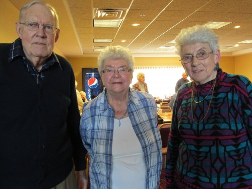 Residents from primrose spend time with their friends they went to high school with.