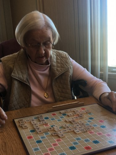 Double word score for Vera!