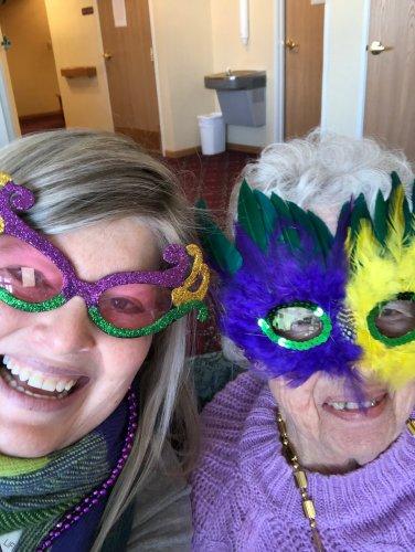 Mardi Gras Selfie!