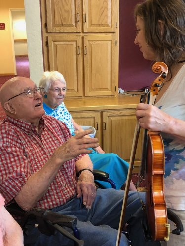 Two Fiddlers and the love of music!
