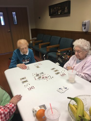 Enjoying Card Bingo