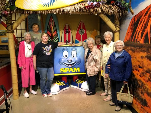 Spammy and our Primrose residents
