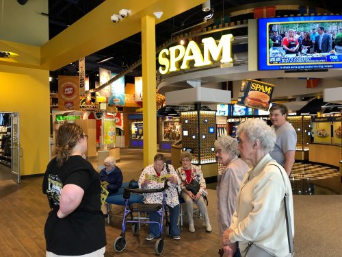 Visiting the Spam Museum