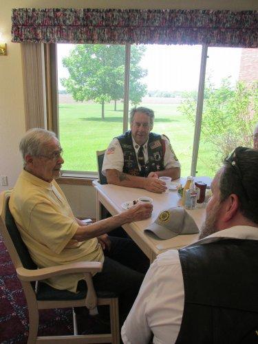 American Legion Riders Visit Veterans