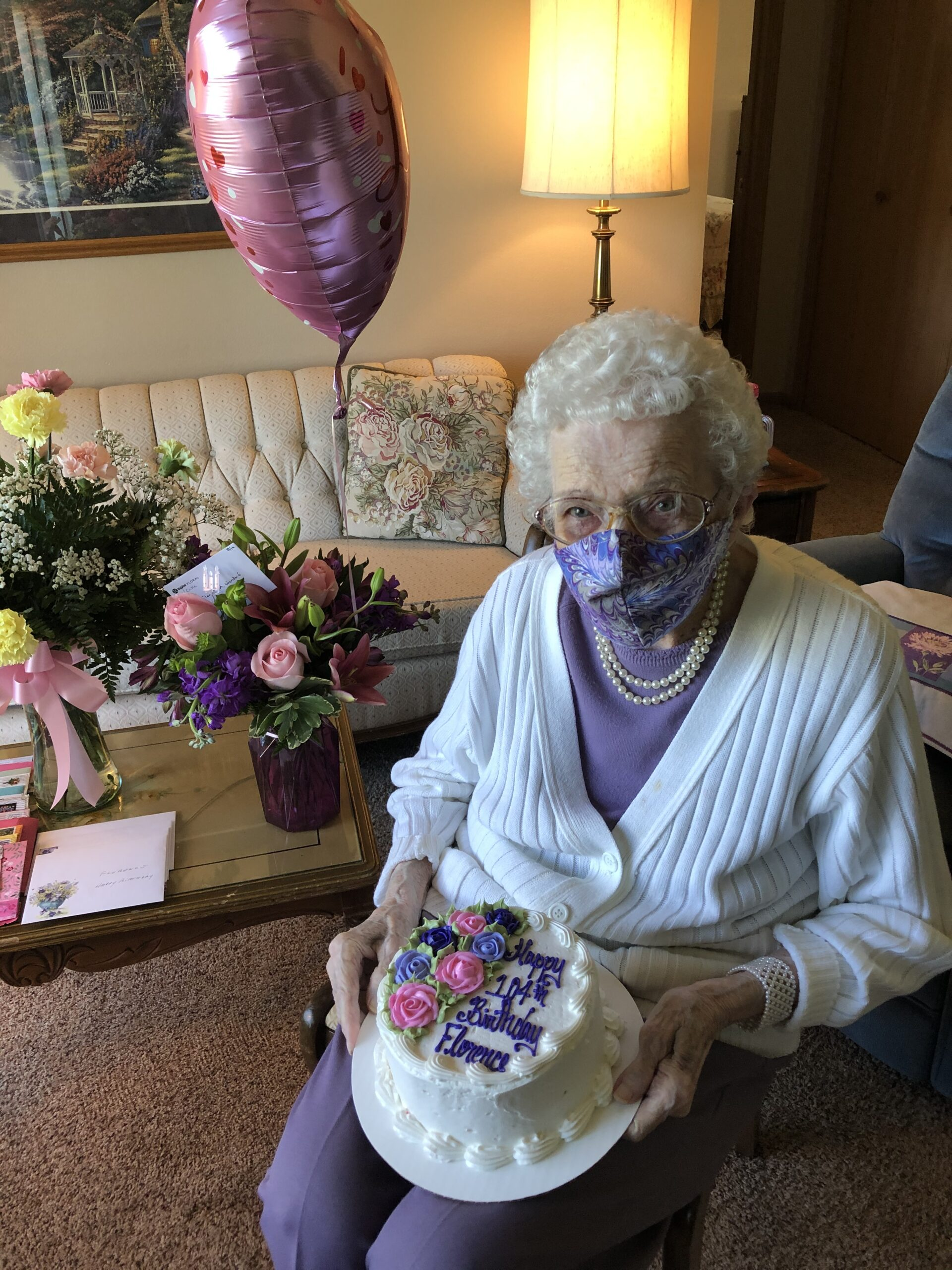 Happy 104th Birthday, Florence!