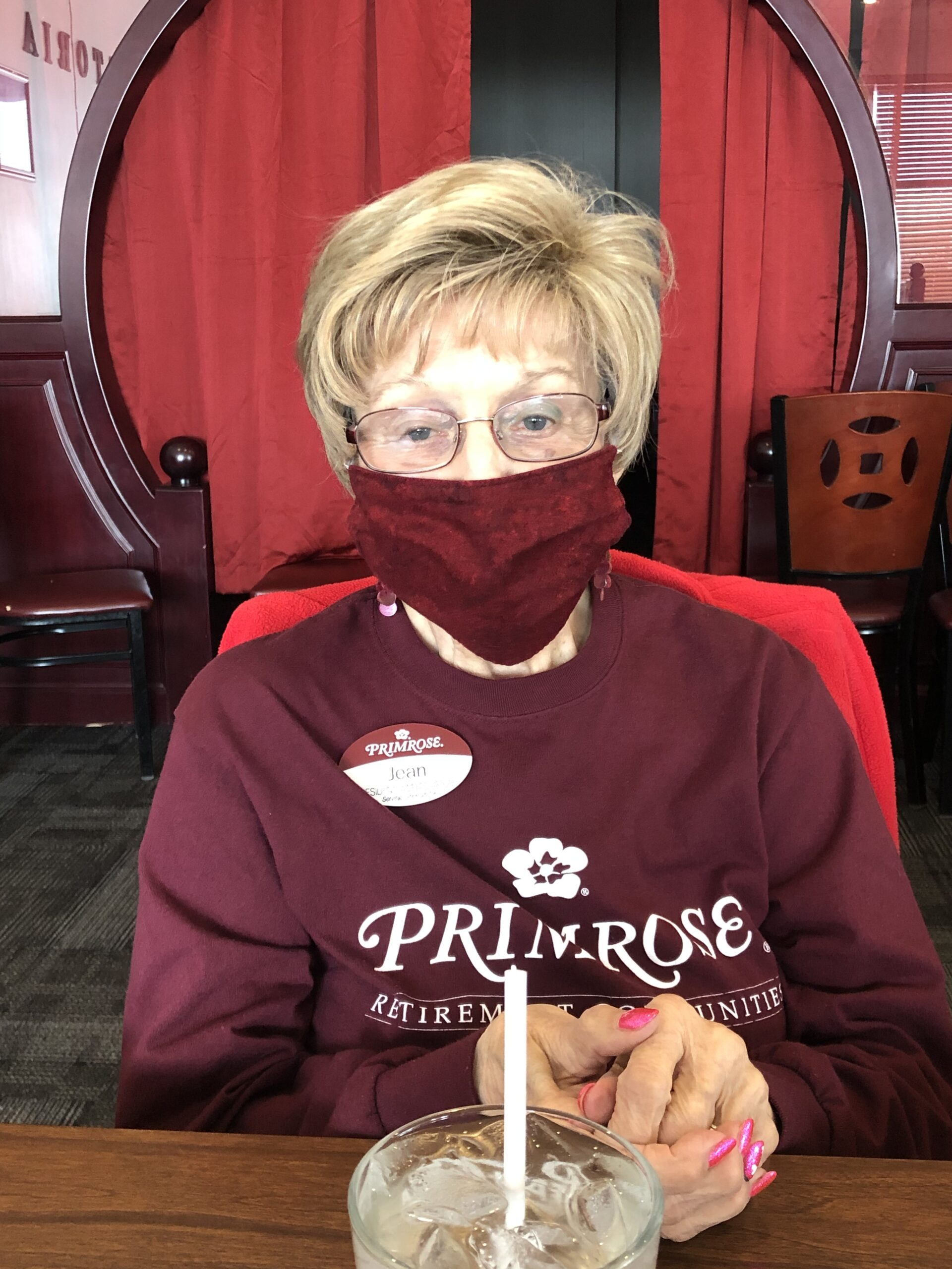 Our Primrose Ambassador, Jean!