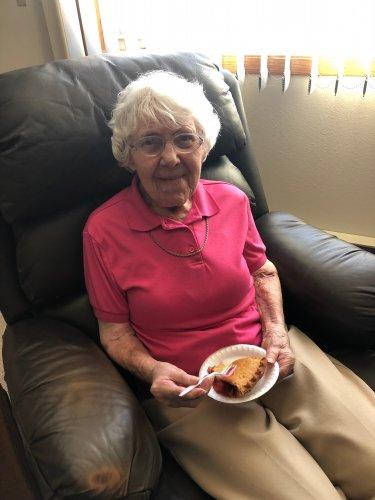 Celebrating Pi Day! Dorothy loved her cherry pie!