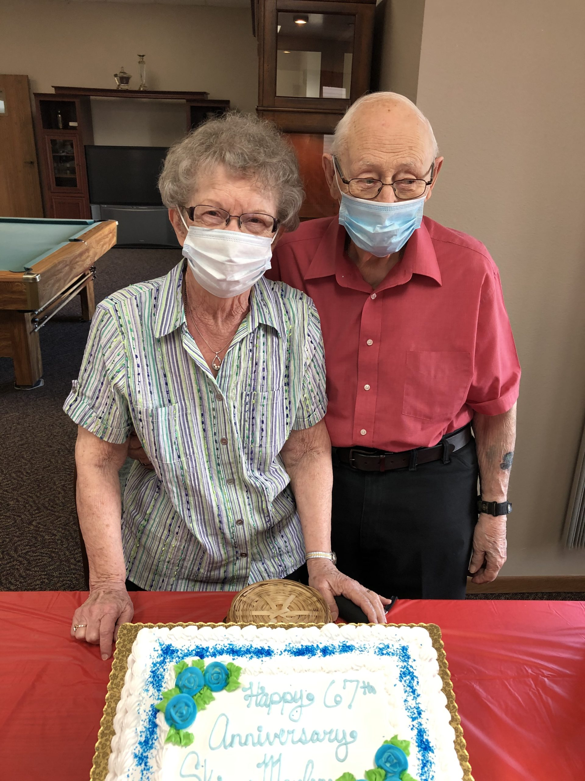 67th Wedding Anniversary for Skip & Marlene