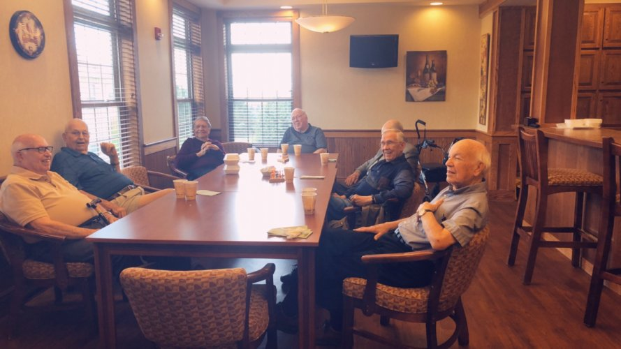 We love spoiling our Veterans every month with a guest speaker and a special breakfast