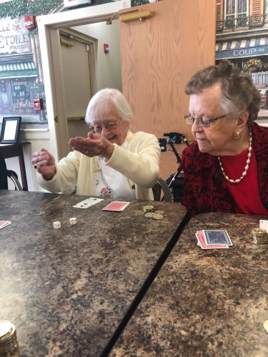 Roll It Out is a popular game amongst the residents of Decatur