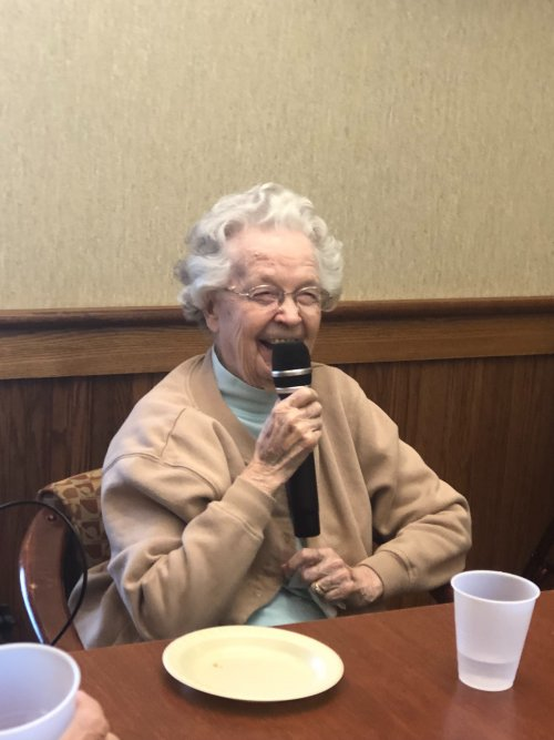 Our new resident welcome parties are filled with lots of smiles and laughs