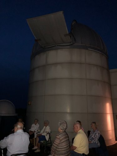 Residents of Decatur enjoyed viewing our planets at Millikin Universities Observatory