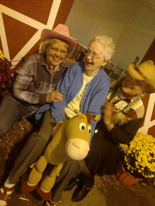 There was a lot of horsing around at our annual Hoedown in Decatur