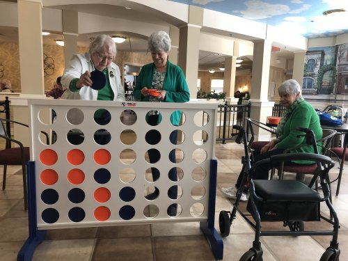 Anyone for a life size game of Connect Four?