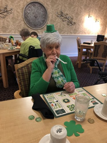 There was lots of shenanigans happening on St. Patrick's Day