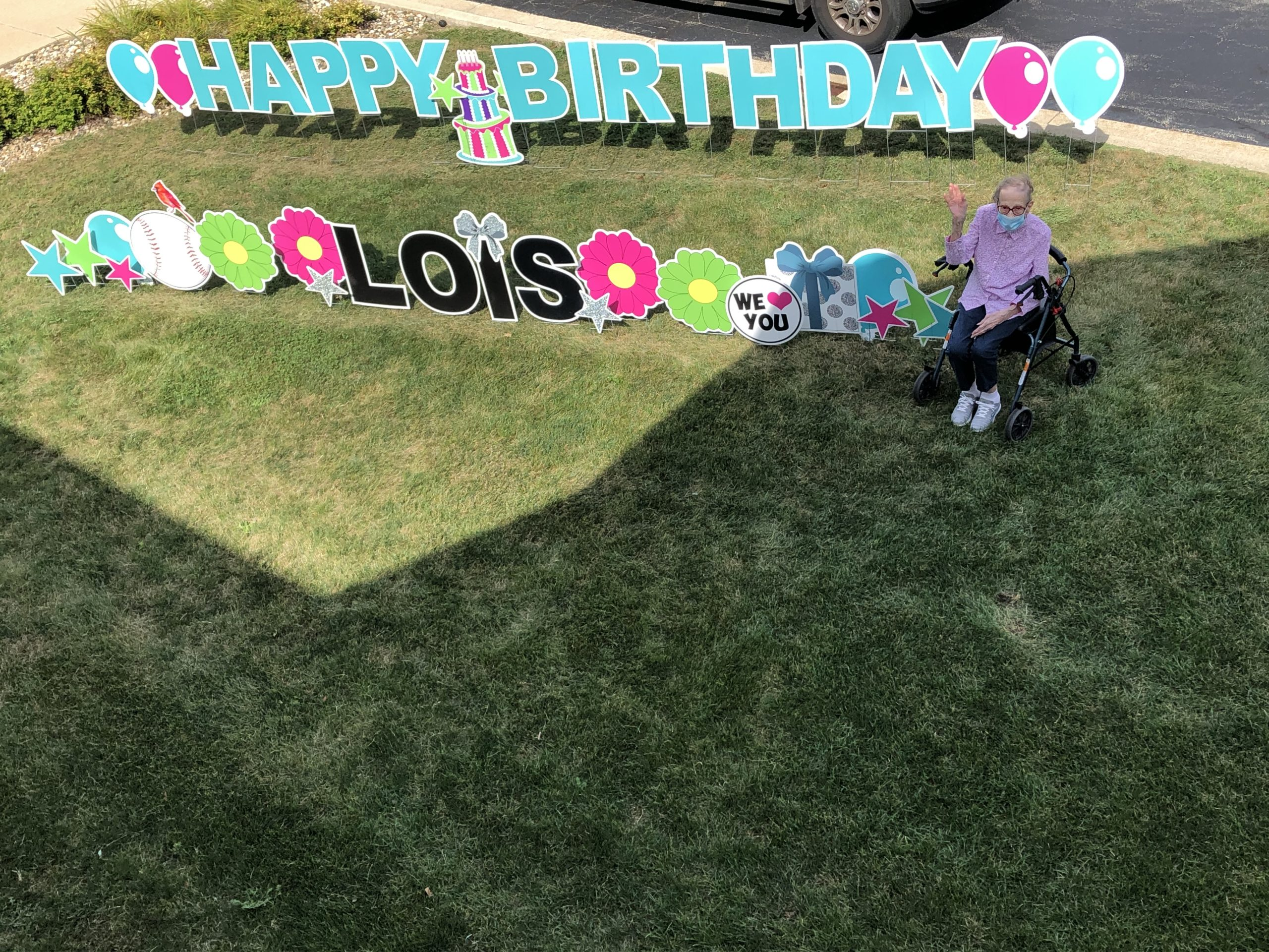 Lois celebrated her 98th birthday in a big way!