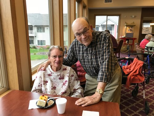 Celebrating 67 years of Marriage with Richard and Dale!!