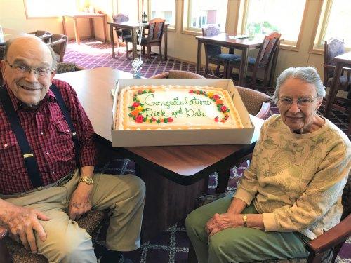 Celebrating Richard & Dale's 68 Wedding Anniversary!!