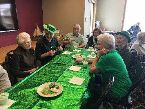 A little Irish fun at Primrose today!