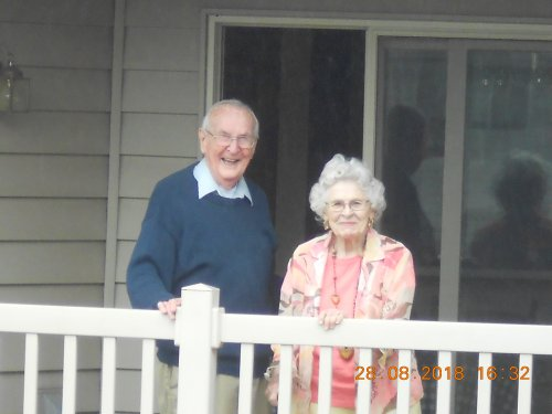 Patsy and Ray enjoying the moment.