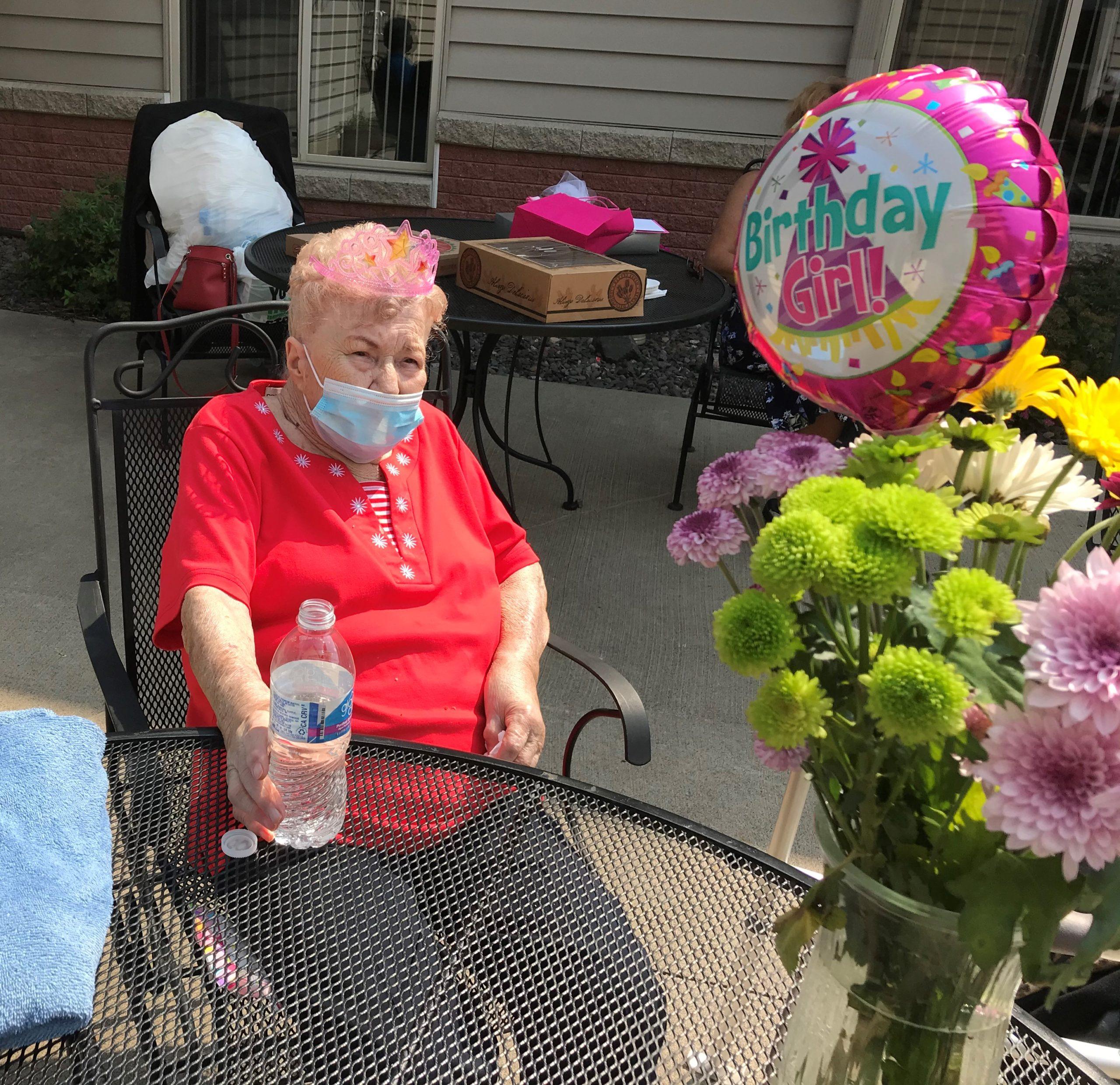 Shirley enjoying her 90th Birthday!