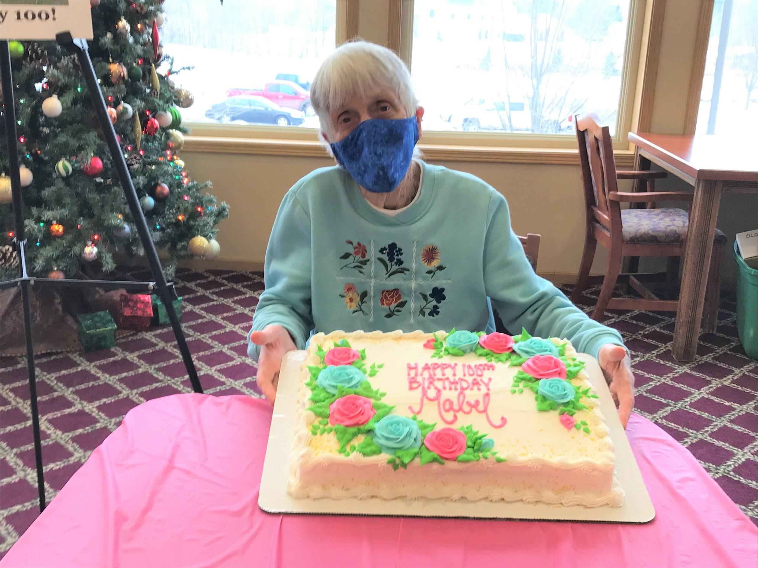 Happy 100th Birthday Mabel!!!