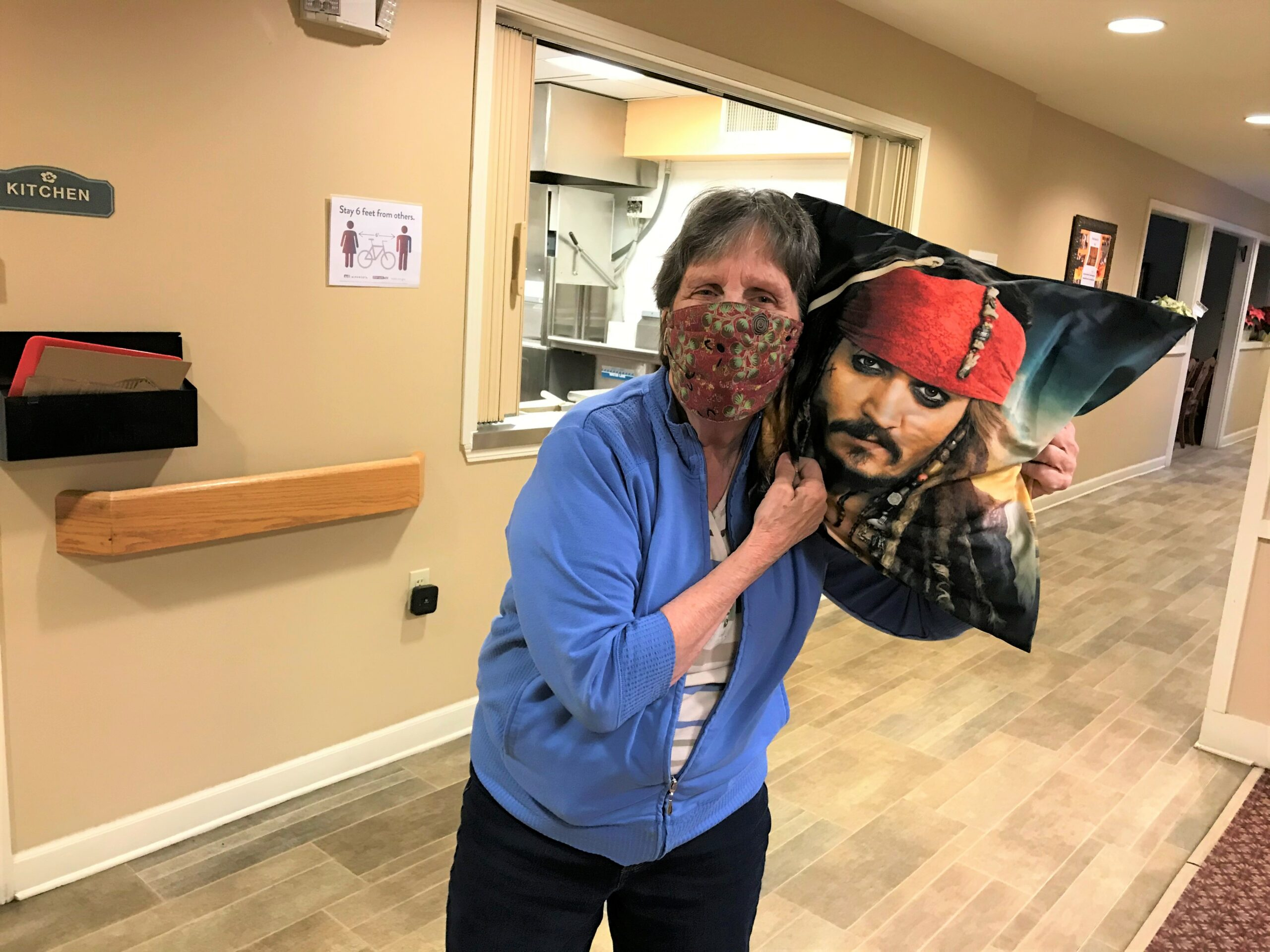 Joanie's Year end Thank you gift for all she does around Primrose!! She loves Jack Sparrow!