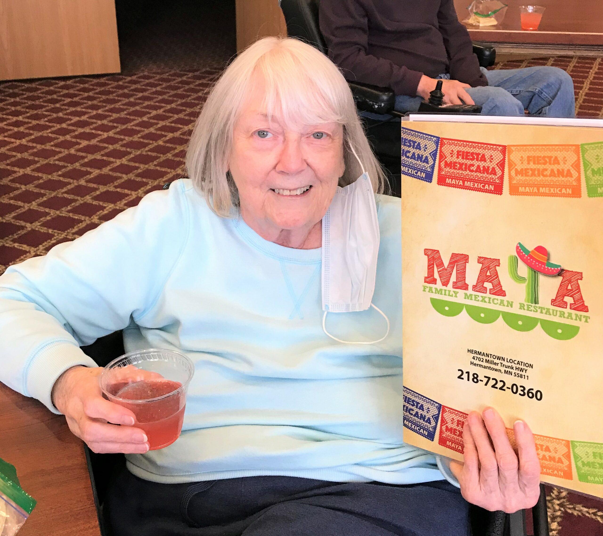 Thank you Maya for helping us celebrate National Margarita Day!!!