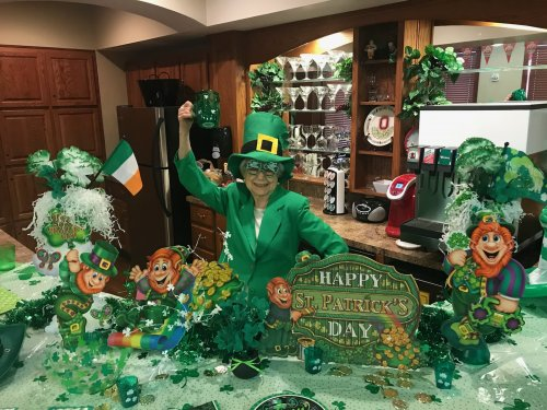Happy St Patrick's Day from Miriam!