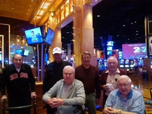 An all guys trip to the Hollywood Casino in Toledo. Fun was had by all!