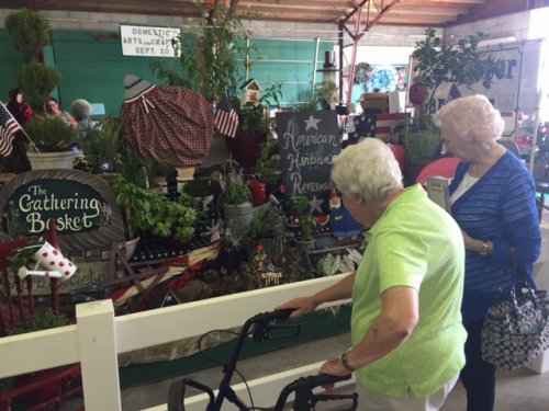 Our residents visited the Hancock County Fair. Edna and Joan were involved in garden groups and they keep their skills flourishing on their balconies for everyone to see.