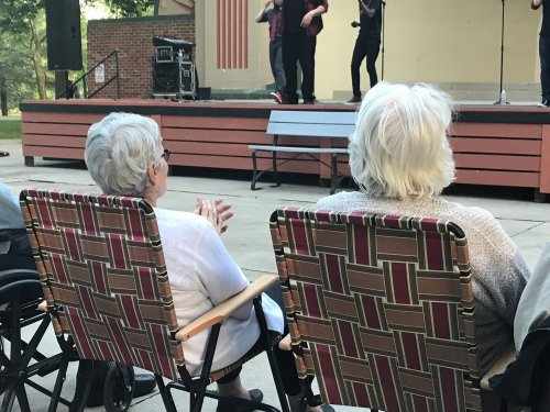 We all enjoyed the concert in the park series this summer!