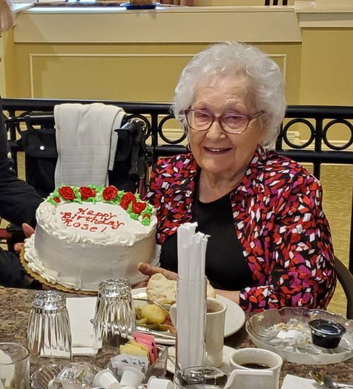 Happy Birthday, Rose!  Thanks for sharing your cake with us!