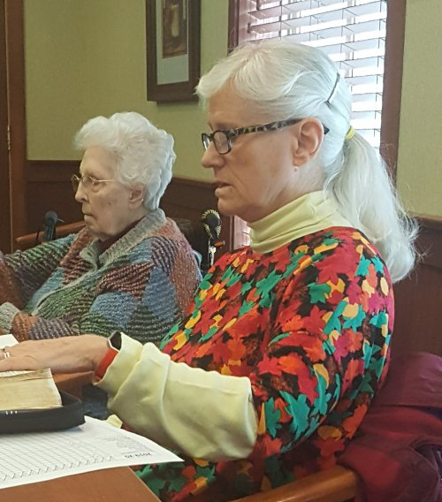 Bible study is a favorite for many of our residents.