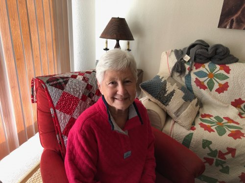 September's resident spotlight!  Always has a beautiful smile and a kind word