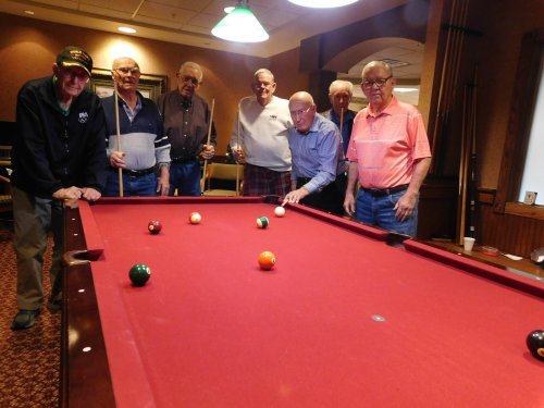 What a fun group of pool players.  Wednesday pool tournament is the place to be!