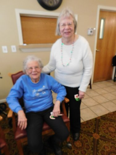 What fun for sisters, Clara and Ruth Ann, to share times together.