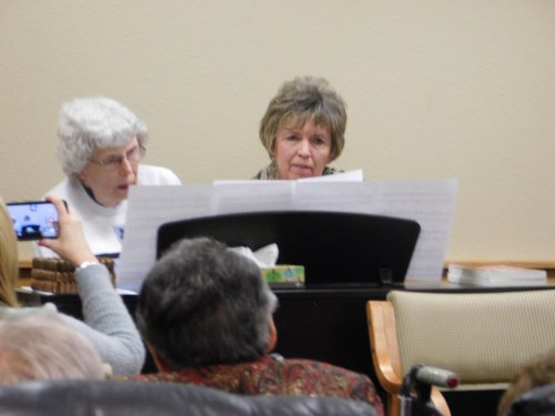 Carrie and Jean share a piano duet at the Primrose Family Talent Show
