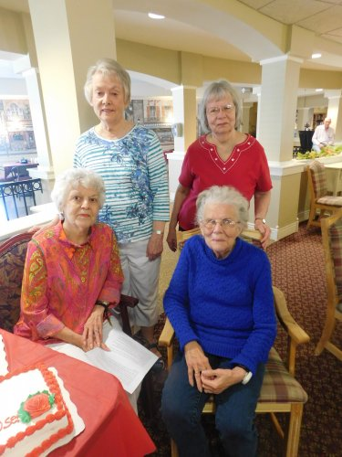 We're so excited to have two sets of sisters now as a part of our Primrose Family.  We're always glad when residents recommend us to family members.
