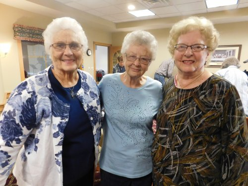 Primrose is all about family and newly made friends.  What fun to share in activities together.  Lookin' good, gals!