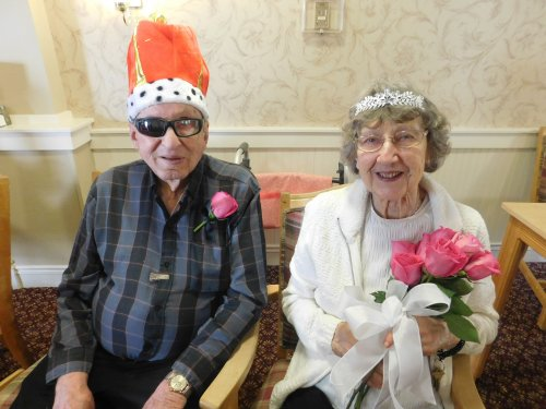 2019's Valentine King Bob and Queen Elaine.