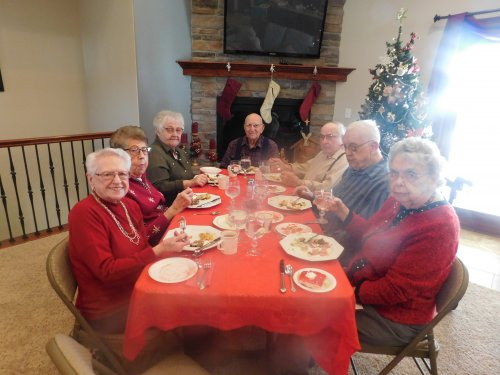 Christmas Luncheon Celebration. . .a fun time with Friends and Family!