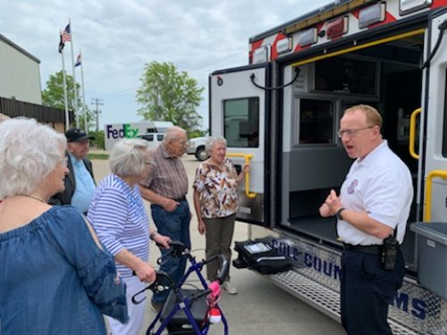 Residents had the opportunity to bring lunch to the Cole County EMS to thank them for their service to the Jefferson City community.