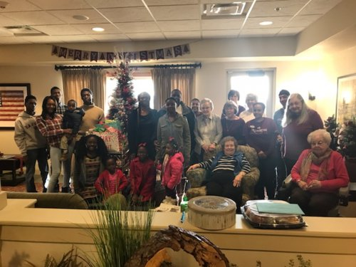 Jefferson City Primrose staff and residents adopted this family of 12 for Christmas.  The family was thrilled to see all of the gifts that were given to them this holiday season.
