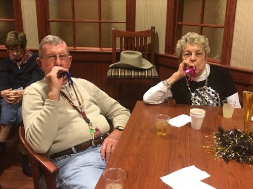 Jefferson City residents enjoying their New Year's Eve party!