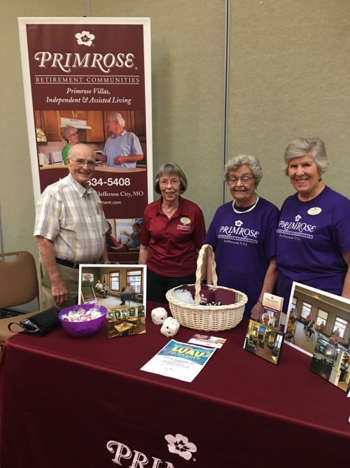 Residents share information about Primrose at the SSM Successful Aging Forum