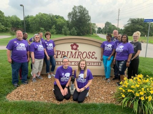 Our staff is wearing purple on the Longest Day!