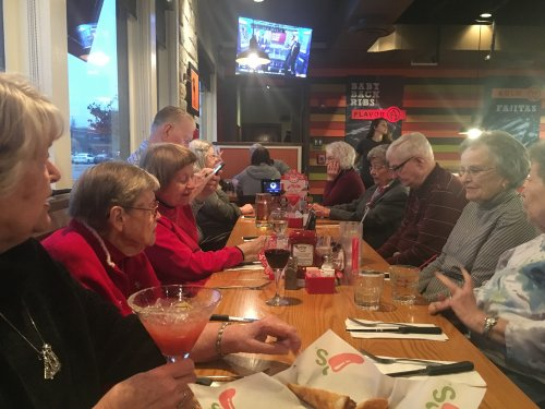 Residents had fun on their dinner outing at Chili's