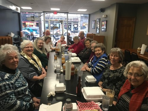 Residents love a night out on the town! They are enjoying a new local restaurant, Sweet Smoke BBQ