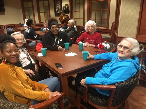 Jefferson City residents are enjoying a pizza party and giving gift bags to Lincoln University student leaders as a random act of kindness!